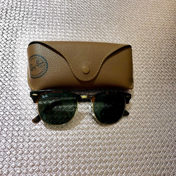 4546019b7ddb99 Ray-Ban Accessories | Rb3061 Rayban Clubmaster Sunglasses In ...
